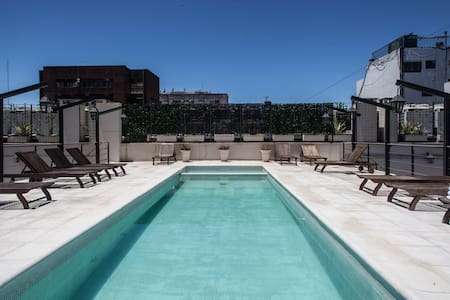 Upscale Apt w/ Pool and Gym in Landmark Building - Buenos Aires