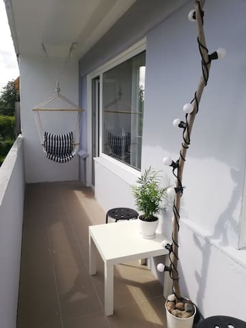 Small and cozy apartment in Jurmala with balcony:)