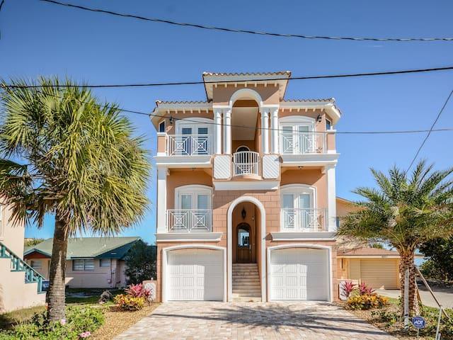Direct OCEANFRONT Beach House - ニュー・スマーナ・ビーチ - 一軒家