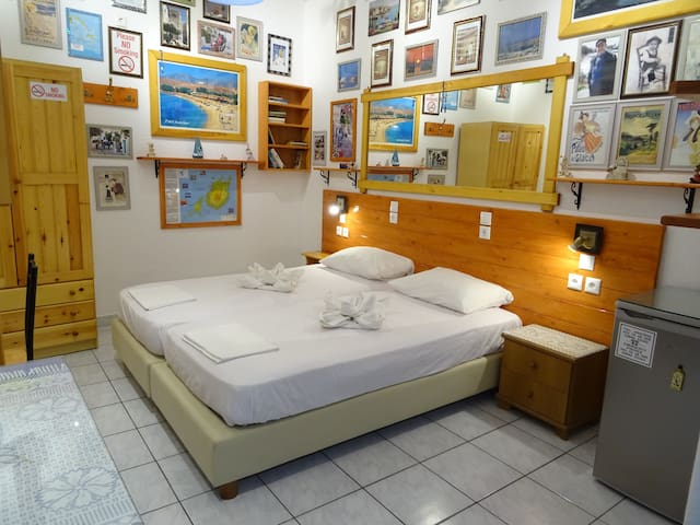 Comfort Economy Double or Twin Room Ground Floor more facilities Private  in your room Washing machine Free luggage storage   Shampoo, body gel, soap, slippers in all rooms On arrival you'll find in your room: coffee, tea, sugar, water Beach towels