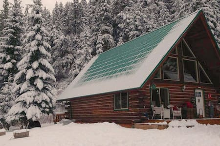 Private Log Cabin in the Mountains of Leavenworth - Leavenworth