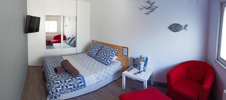 Laurina: chambre, sdb, jardin, 100% autonome