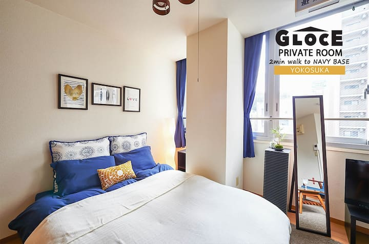 GLOCE Guest room, 2min walk to NAVY BASE, YOKOSUKA