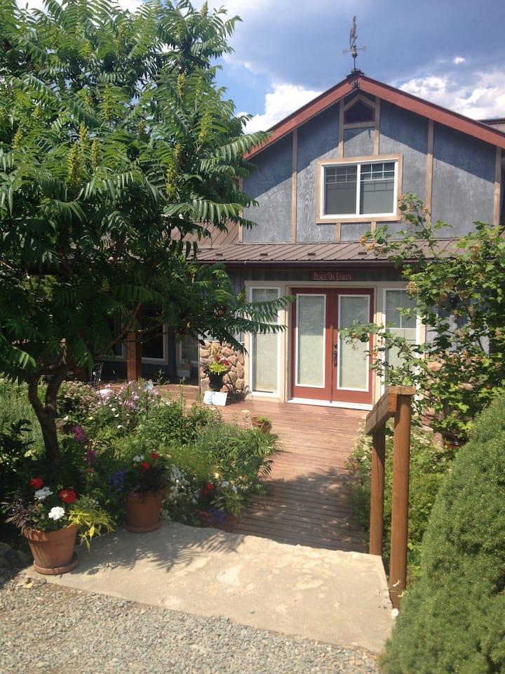 Timber frame Garden Oasis