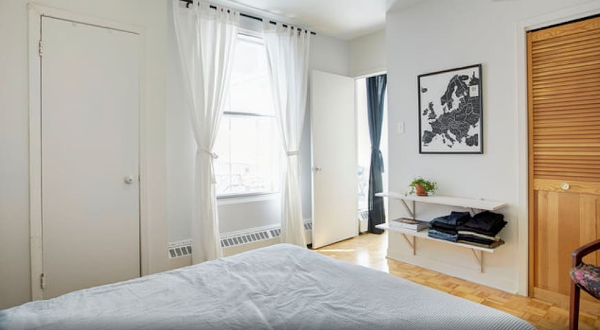 3 1/2 in the heart of the mile end - Montreal - Apartamento