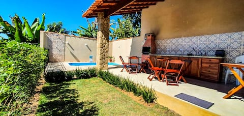 Casa Temporada Paraty c/ piscina e ar condiciona