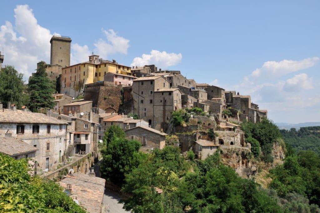 Borgo medievale di Civitella D'Agliano