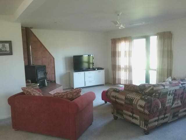 Feel free to relax in the living room, or enjoy the privacy of your bedroom.