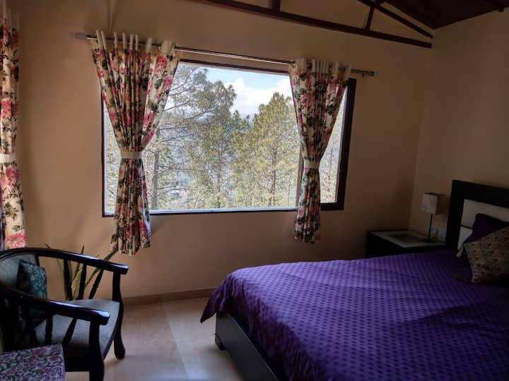 Premium Himalayan homestay in private pine forest
