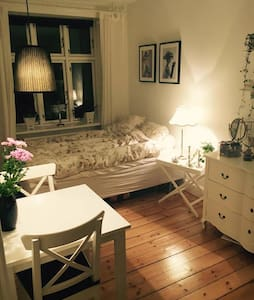 Cozy room in Nørrebro - cool area - Copenhague