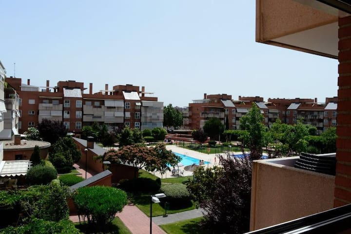 Nice apartment minutes from the city center