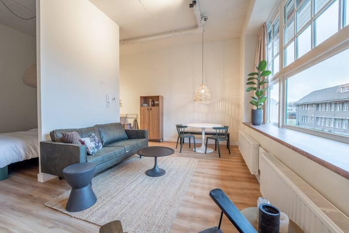 Luxe studio met eigen badkamer op de Veluwe, 5