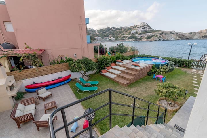 Our sea front garden is waiting for you...