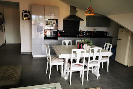 Appartement entier avec terrasse et parking