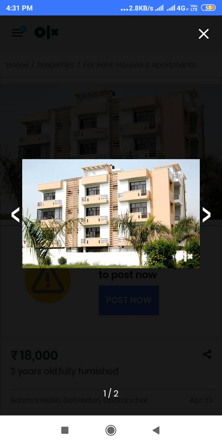 Pandeys- fully furnished 2 bhk by doctor couple