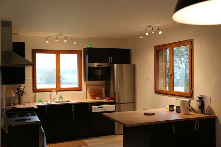 Lodge chaleureux et luxueux en pleine nature - Vendeuvre-sur-Barse - House