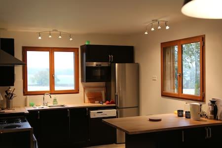 Lodge chaleureux et luxueux en pleine nature - Vendeuvre-sur-Barse - Hus