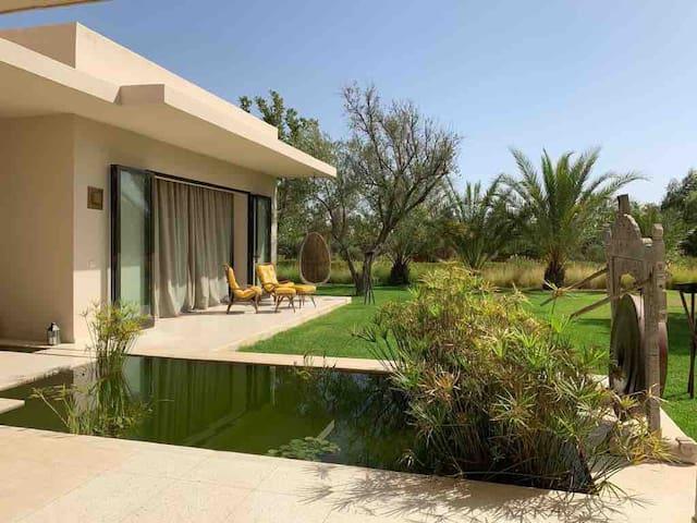 Villa familiale Marrakech avec piscine 8 chambres