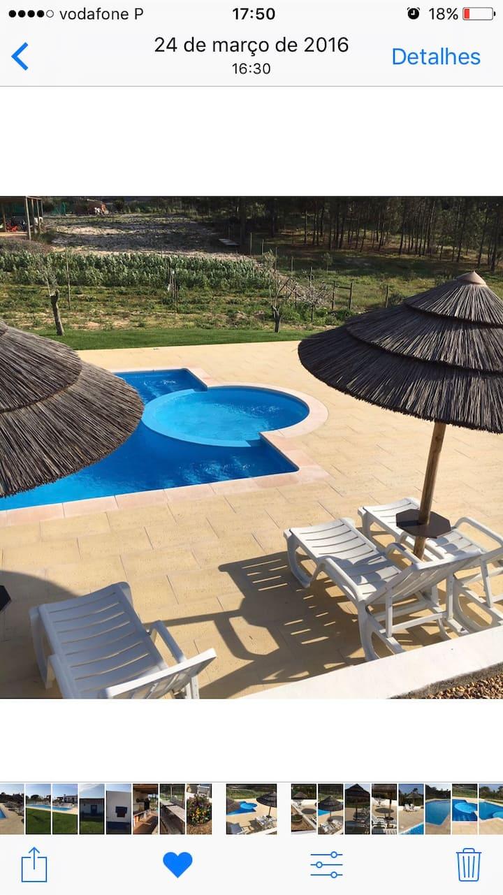 Apartamento t0 roxo praia Melides  Mt António domi