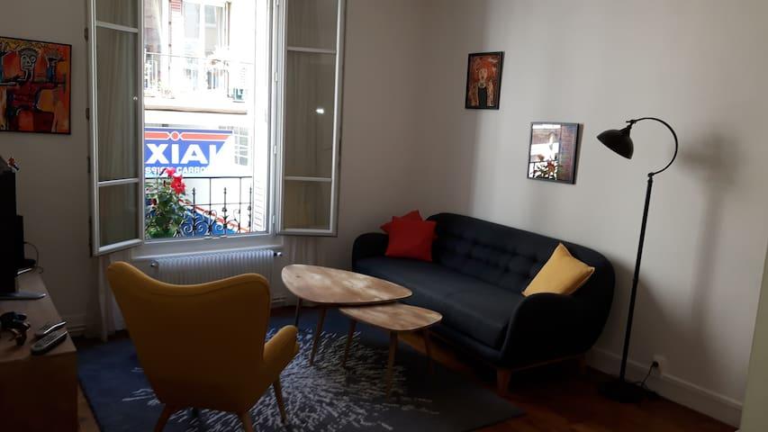 Appartement proche Paris direct Champs Elysées - Clichy