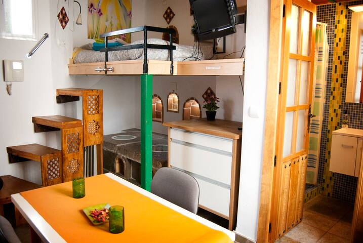 Estudio romántico 1 Centro/Alhambra - Granada - Appartamento