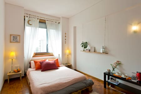 Bright DOUBLE ROOM + private BATHROOM in Porto - Port - Lyxvåning