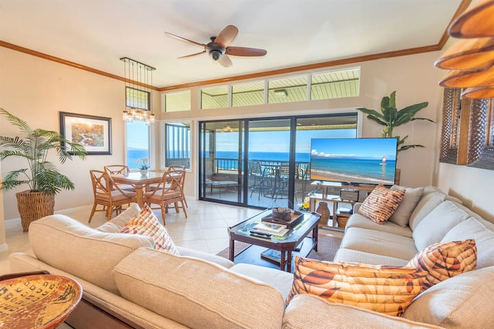 Villa 1722. 7th Night FREE! Super Platinum Villa with Views Which Maui Dreams are Made of, this Kapalua Townhouse is Simply Spectacular!