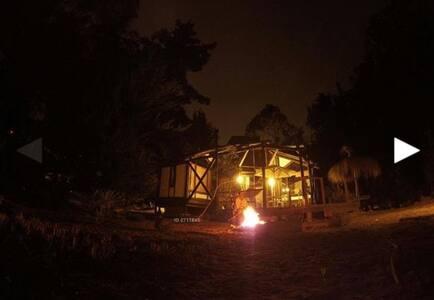 Preciosa Cabaña en condominio seguro con playa cau - Casa de campo