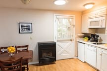 Kitchenette (Actual unit is similar but slightly different)