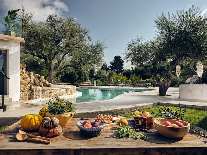 Villa Castelletto Olive Garden Heated Pool Jacuzzi