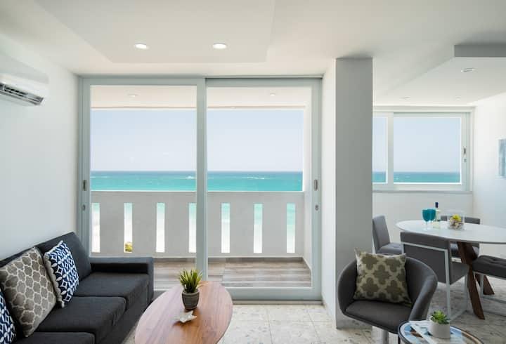 Ocean View 3/2+ Balcony + Pool-San Juan/Condado