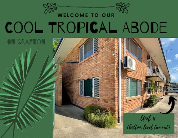 Cool Tropical Abode - 'On Grafton'