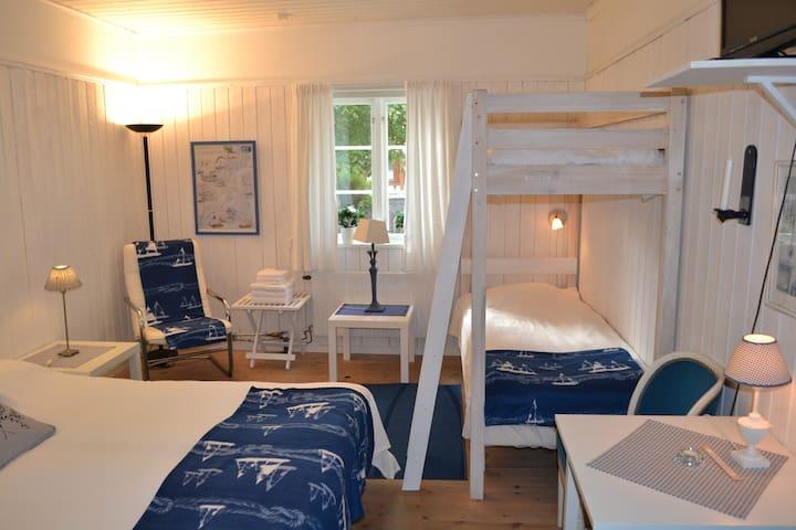 Hotell Klockargården Öregrund! Frukost ingår! Rm12