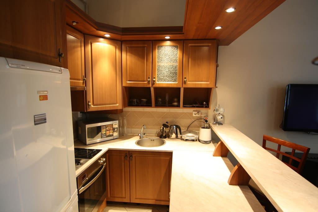 Kitchen area - fully equipped