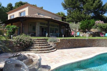 Villa luxe au calme. Piscine. Vue mer panoramique - Carqueiranne