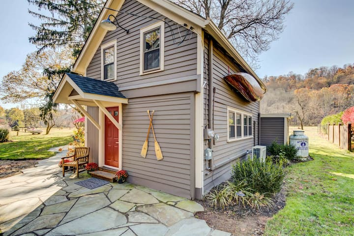 NEW! The Canoer's Cottage on the Delaware River