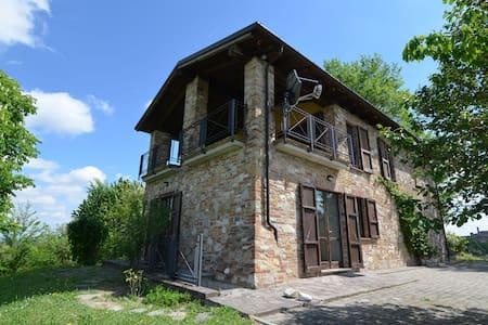 Bella villa a Ziano Piacentino in mezzo ai vigneti