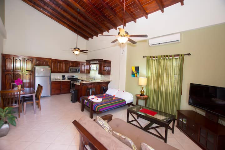 Caribbean Village  Studio Apartment