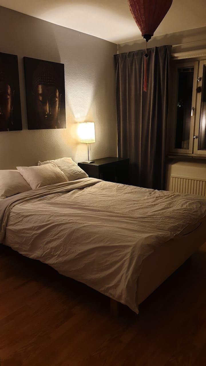Trevligt rum, del av lägenhet