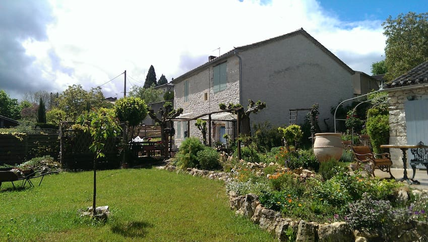 House  (South West of France): Peace and Nature