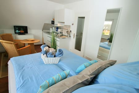 """Ferienwohnung am Wyker Stadtwald """"klein aber fein"""" - Wyk auf Föhr - Apartment"""