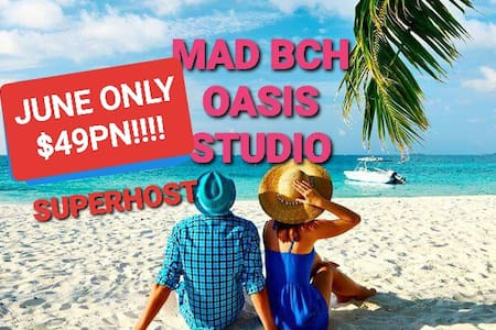 Mad Bch Oasis Studio**JUNE$49PN*JULY$69PN