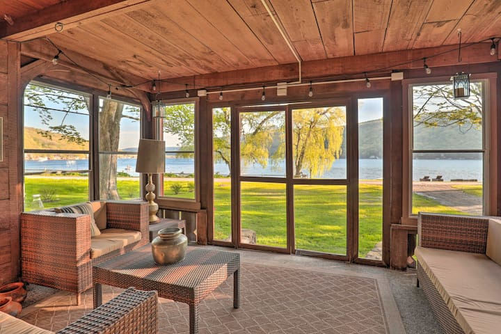 Lovely Homer Retreat w/ Patio on Skaneateles Lake!