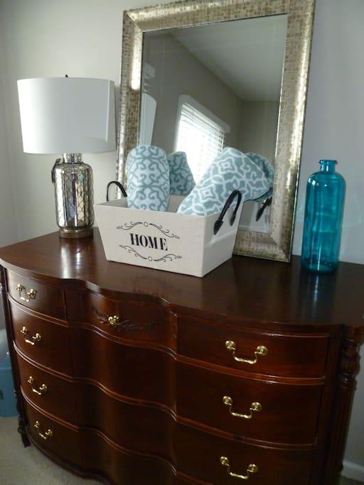Bedroom ammenities