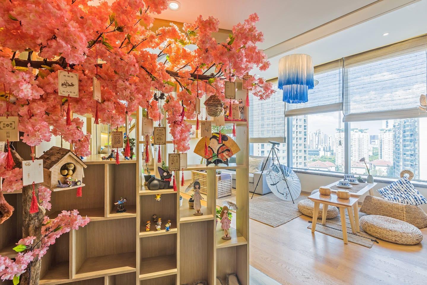 温馨舒适的日式三居室,带给您如家一般的惬意