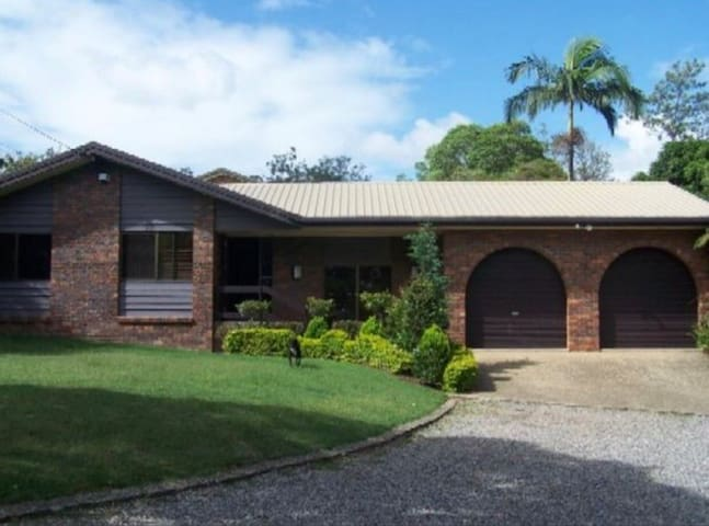Large private home on a large block with a pool!