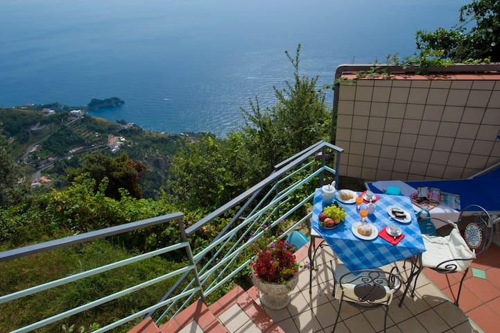 L'Alba sulla Costiera Amalfitana - Furore - Wohnung