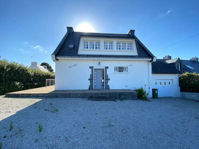 Maison familiale entière à Portivy proche plage