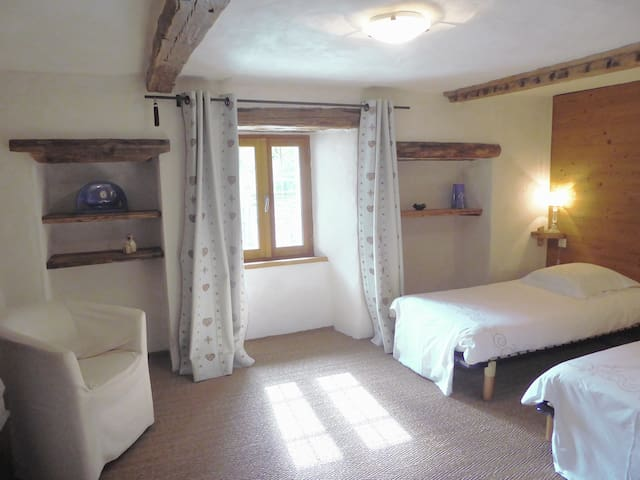 """chambre twin de la suite """"ours"""""""