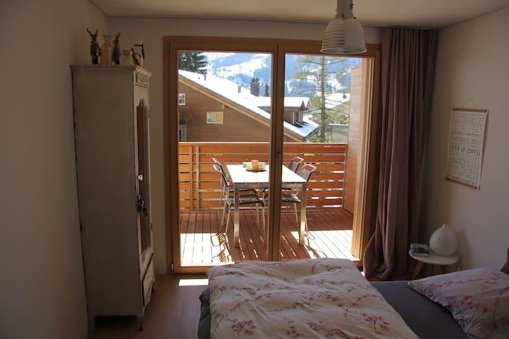 Südwest-Zimmer mit Balkon
